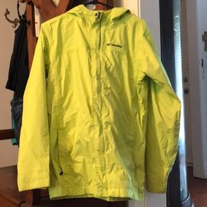 Columbia Raincoat - size xl